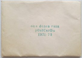 one dozen rain pOstCarDs 1971-73, Sammlung Jens Hermann